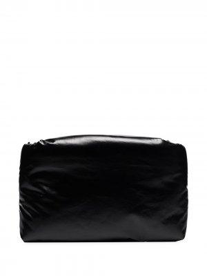 Клатч Oil KASSL Editions. Цвет: черный