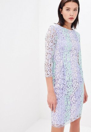 Платье Blugirl Folies. Цвет: фиолетовый