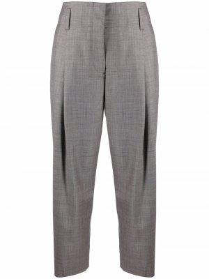 Укороченные брюки прямого кроя PAUL SMITH. Цвет: фиолетовый