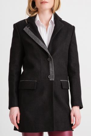 Пальто BGN. Цвет: черный