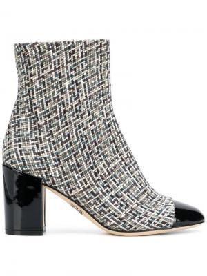 Mosaic ankle boots Rodo. Цвет: нейтральные цвета