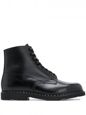 Ботинки Imbattable Paraboot. Цвет: черный