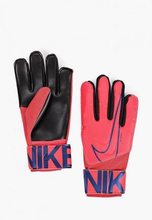 Перчатки вратарские Nike. Цвет: красный