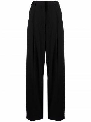 Прямые брюки с завышенной талией PAUL SMITH. Цвет: черный