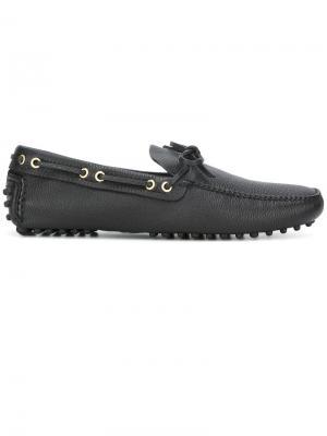 Мокасины Daino Car Shoe. Цвет: черный