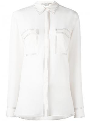 Рубашка Vindy Stella McCartney. Цвет: нейтральные цвета