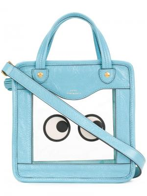 Rainy Day tote Anya Hindmarch. Цвет: синий