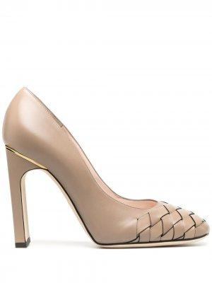 Туфли-лодочки Decolletè Pollini. Цвет: нейтральные цвета