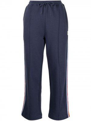 Спортивные брюки с лампасами Être Cécile. Цвет: синий