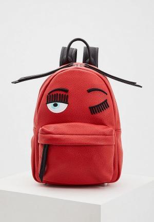Рюкзак Chiara Ferragni Collection. Цвет: красный