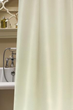 Штора для ванной NIKLEN. Цвет: бежевый