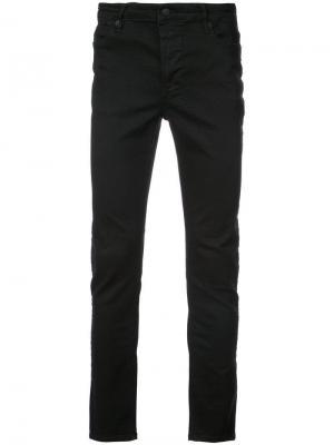 Классические джинсы скинни Ksubi. Цвет: черный