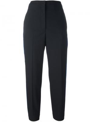 Укороченные брюки с полосками по бокам Golden Goose Deluxe Brand. Цвет: черный