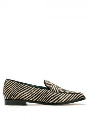 Пенни-лоферы Zéfiro Blue Bird Shoes. Цвет: черный