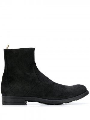 Ботинки челси на молнии Officine Creative. Цвет: черный