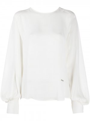 Блузка с пышными рукавами Dsquared2. Цвет: белый