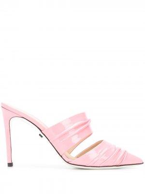 Лакированные туфли Bali Liquid Grey Mer. Цвет: розовый