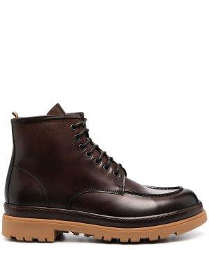Doucals ботинки на шнуровке Doucal's. Цвет: коричневый