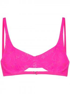 Плавки-танга Anna Frankies Bikinis. Цвет: розовый