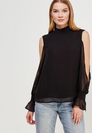 Блуза Lost Ink. Цвет: черный