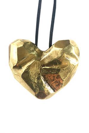 Кулон Сердце ALEXANDRIA HOME. Цвет: золотой