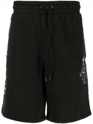 Спортивные шорты из коллаборации с KidSuper Puma. Цвет: черный