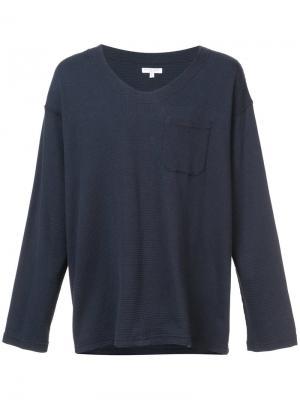 Кофта с длинным рукавом Engineered Garments. Цвет: синий