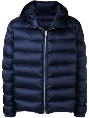 Куртка-пуховик Ten C. Цвет: синий