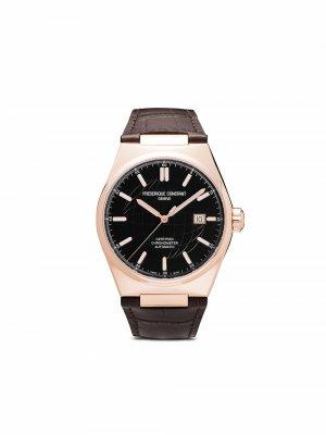 Наручные часы Highlife Automatic 41 мм Frédérique Constant. Цвет: черный