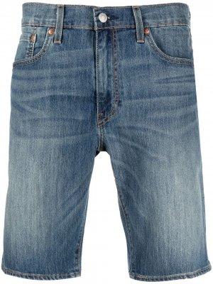 Levis джинсовые шорты-бермуды Levi's. Цвет: синий