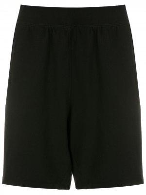 Спортивные шорты с логотипом Armani Exchange. Цвет: черный