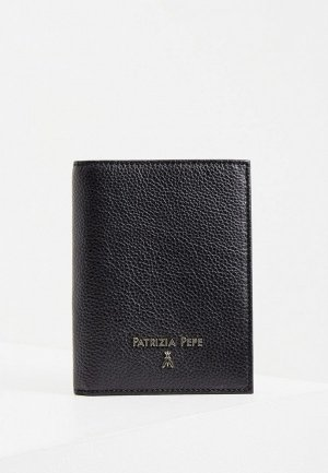 Обложка для паспорта Patrizia Pepe. Цвет: черный