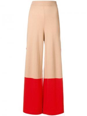 Explorer knit trousers Temperley London. Цвет: нейтральные цвета