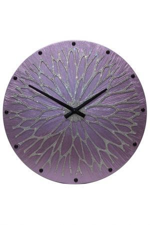 Настенные часы MARIARTY. Цвет: фиолетовый