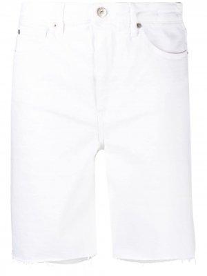 Джинсовые шорты 3x1. Цвет: белый