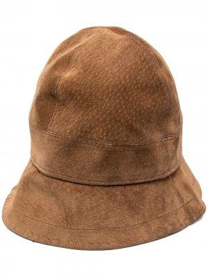 Панама pre-owned Hermès. Цвет: коричневый