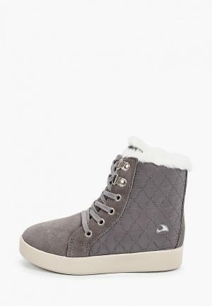 Ботинки Viking. Цвет: серый