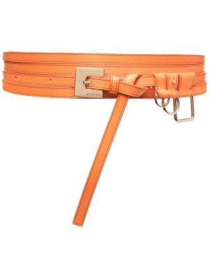 Ремень La Ceinture Moisson Jacquemus. Цвет: оранжевый