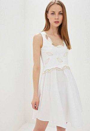 Платье See by Chloe. Цвет: белый