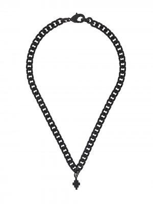 Цепочка на шею с подвеской Marcelo Burlon County of Milan. Цвет: черный