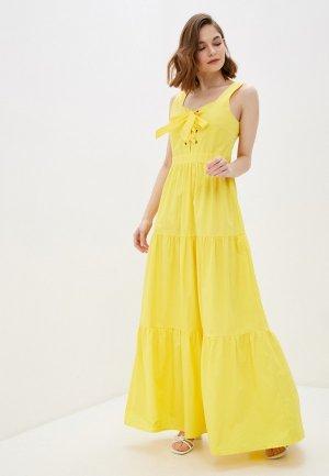 Платье Glamorous. Цвет: желтый
