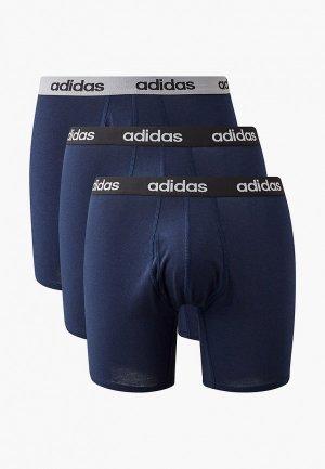 Комплект adidas. Цвет: синий