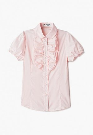 Блуза Button Blue. Цвет: розовый