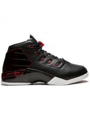 Кроссовки Air  17 Jordan. Цвет: черный