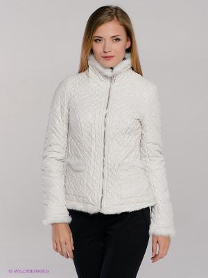 Куртка CONVER. Цвет: молочный