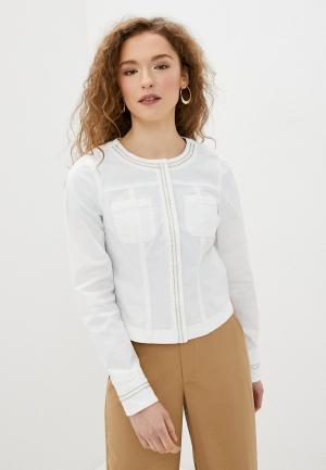 Куртка Morgan. Цвет: белый