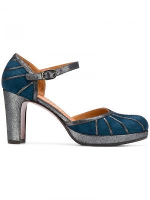 Туфли-лодочки Capin Chie Mihara. Цвет: синий