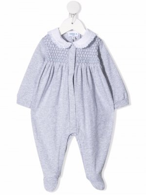 Пижама с фактурной вставкой Siola. Цвет: серый