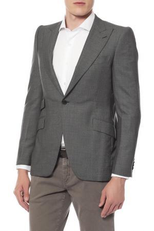 Пиджак Bottega Veneta. Цвет: серый