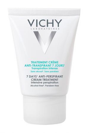 Дезодорант-крем VICHY. Цвет: белый